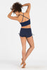 Supplex High Waist Short - Navy