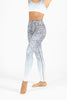 Jungle Cat Ombre High Waist Printed Yoga Legging - Full Length