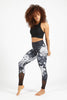 Power Flow Legging - Black Garden