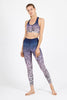 Stormy Love High Waist Printed Legging - 7/8