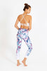 Pastel Forest High Waist Printed Legging - 7/8