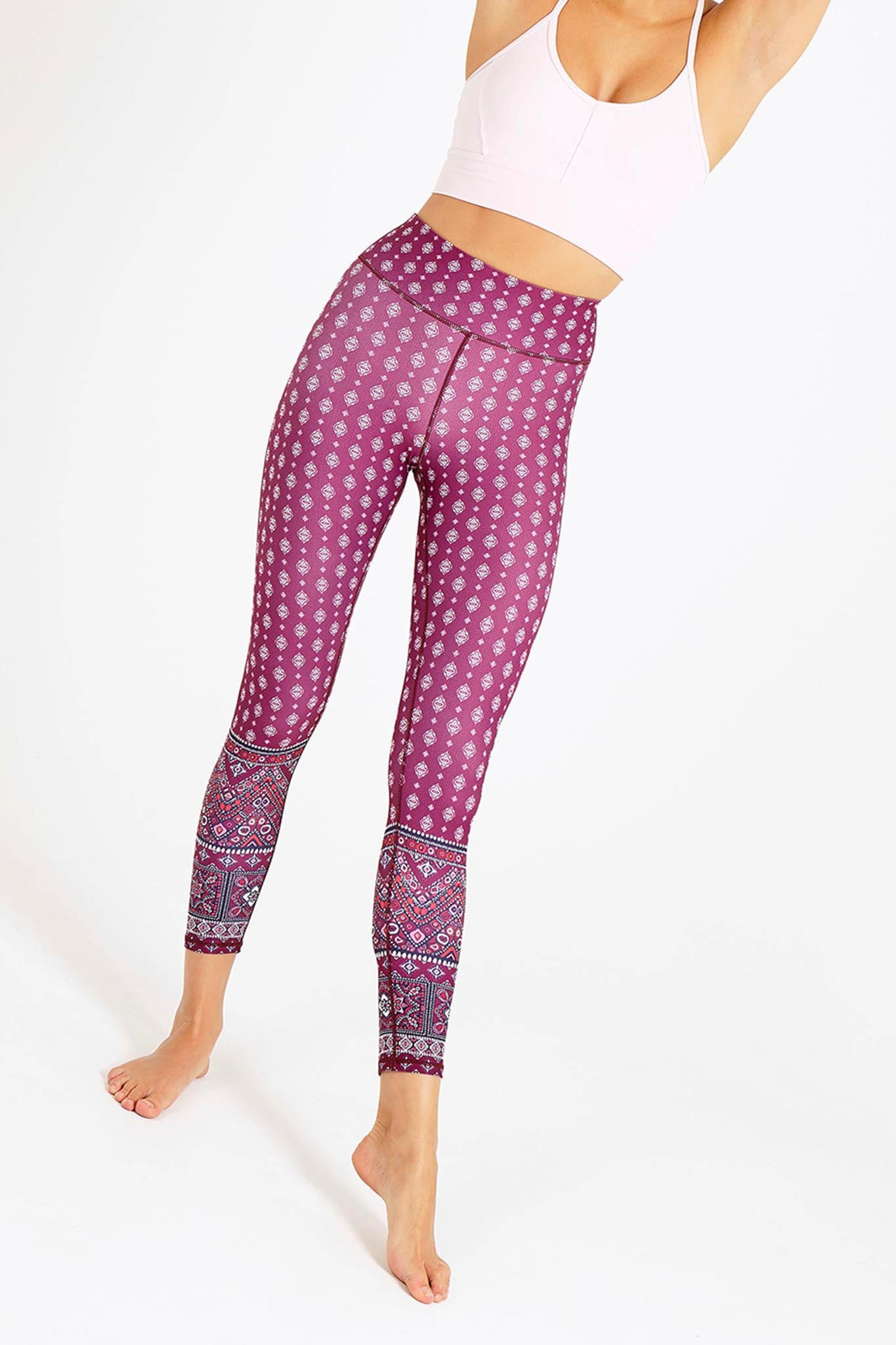 d51488775451b Spellbound High Waist Printed Legging - 7/8 | Women's Yoga and ...