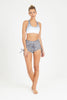 Jungle Cat Printed Side Tie Shorts