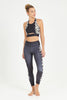 California Dreaming High Waist Printed Legging - 7/8