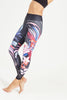 Rising Sun High Waist Printed Legging - 7/8