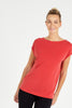 Power Red Luxe Layer Top