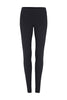 Plain Black Long Activewear and Yoga Legging