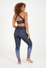 Bright Lights High Waist Printed Yoga Legging - Full Length