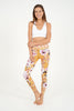 Amber Rose High Waist Printed Legging - 7/8