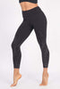 Spiral Foil 7/8 Legging - Black