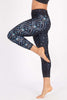 Free Love High Waist Printed Legging - 7/8