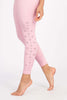 Mirabai Laser Legging 7/8 - Rose Quartz