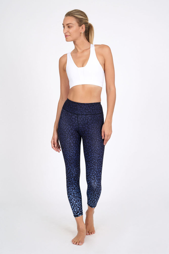 Queen of Hearts High Waist Printed Legging - 7/8