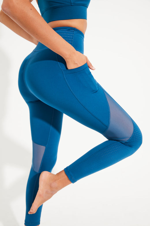 Lucidity Legging Ankle Length - Emerald