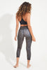 Outlaw Recycled High Waist Printed Legging - 7/8