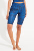 Deep Blue Printed Recycled Spin Short