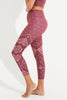 Cigana Recycled High Waist Printed Legging - 7/8