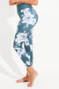 Floral Anthem Recycled High Waist Printed Legging - 7/8