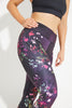 Moon River Recycled High Waist Printed Legging - 7/8