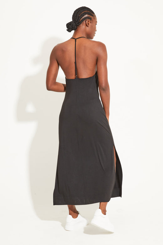 Oracle Strappy Dress - Black