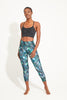 Luminous Recycled High Waist Printed Legging - 7/8