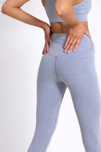Ultra Luxe 7/8 Legging - Cloud Grey Marle