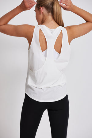 Solitude Tank - White