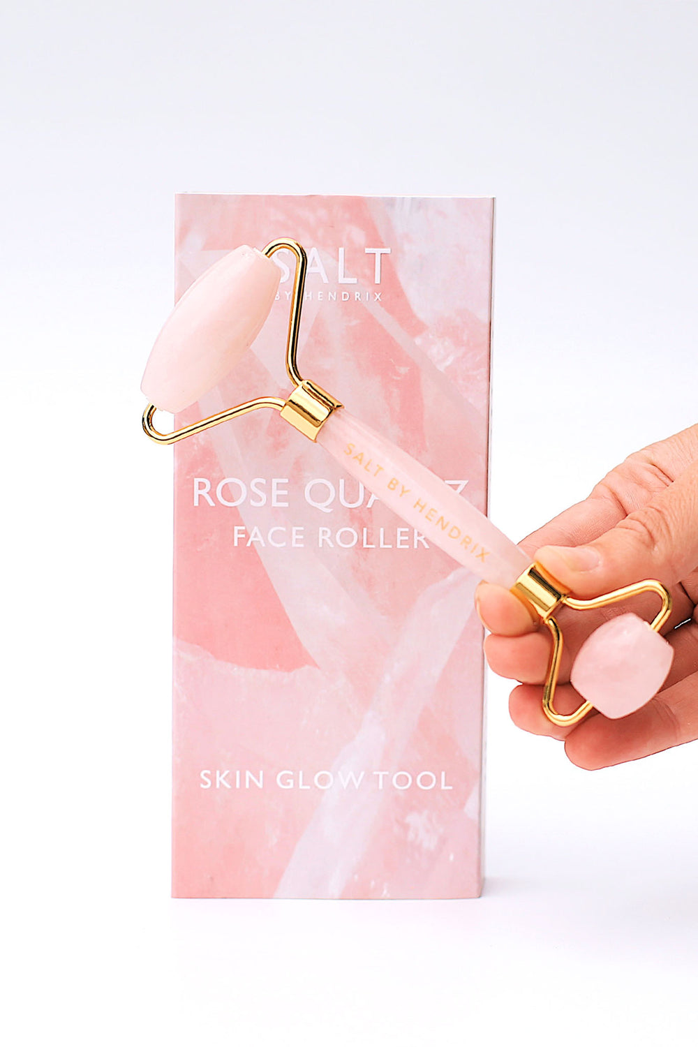 Salt by Hendrix - Face Roller - Rose Quartz