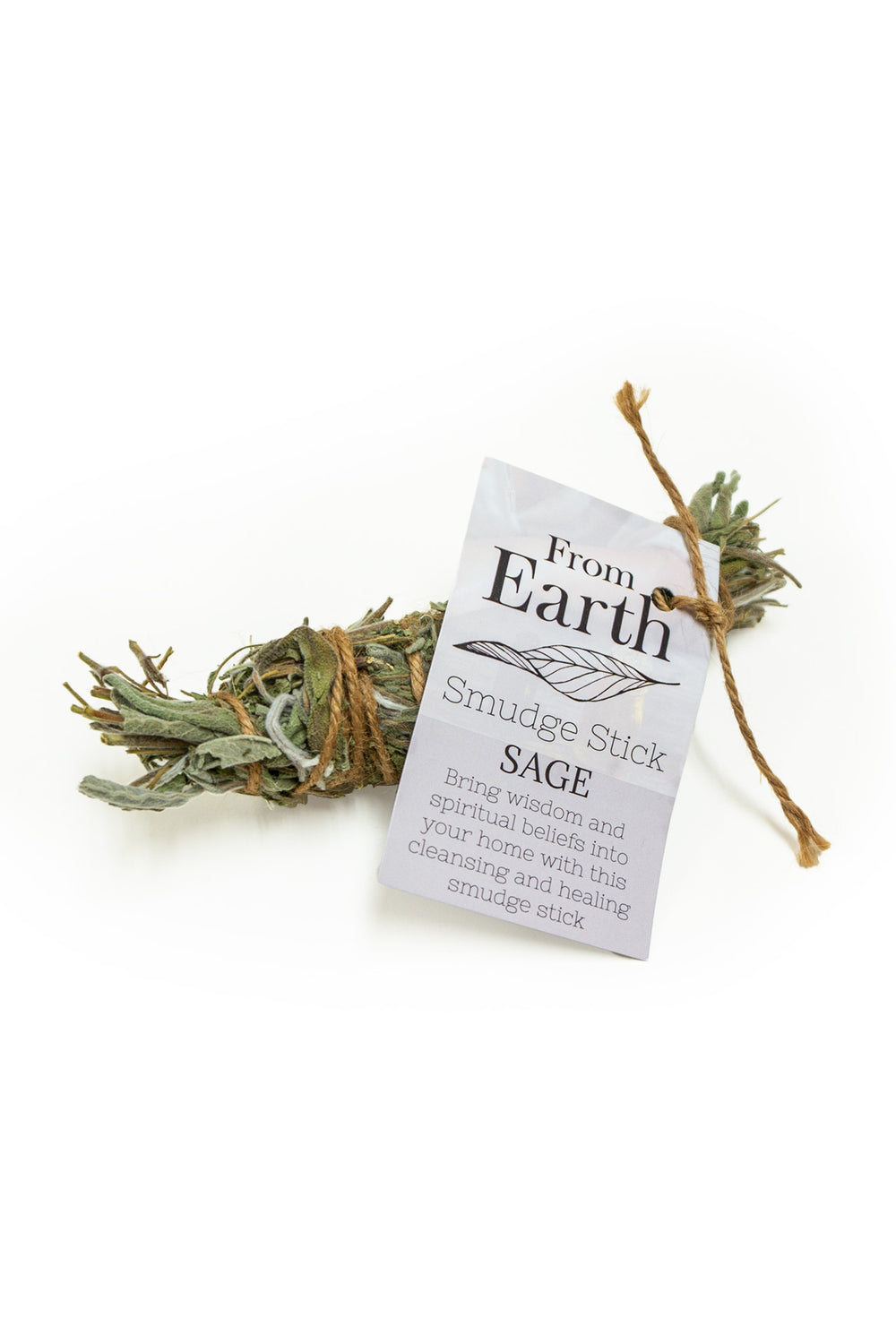 Earth Smudge Sticks - Organic White Sage Smudge sticks