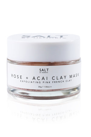 Salt by Hendrix - Rose and Acai Face Mask