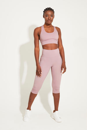 Balance Crop Length - Dusty Mauve