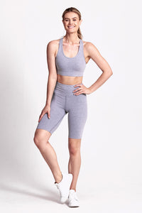 Ultra Luxe Short - Cloud Grey Marle