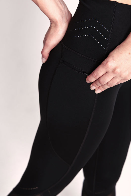 Enigma Legging 7/8 - Black