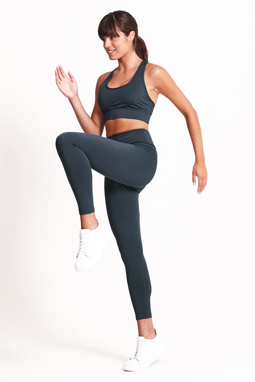 Balance 7/8 Length Legging - Deep Ocean