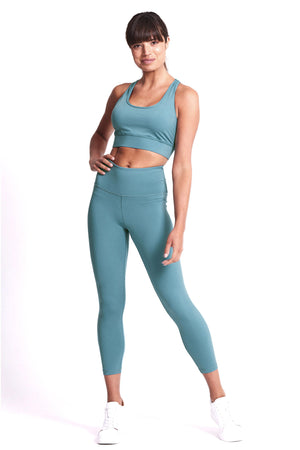 Balance 7/8 Length Legging - Mineral Teal