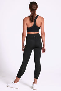 Aura Laser 7/8 Legging - Black