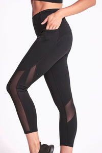 Fantasia Pocket Legging 7/8 - Black