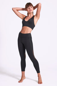 Mystique Lace Legging 7/8 - Black