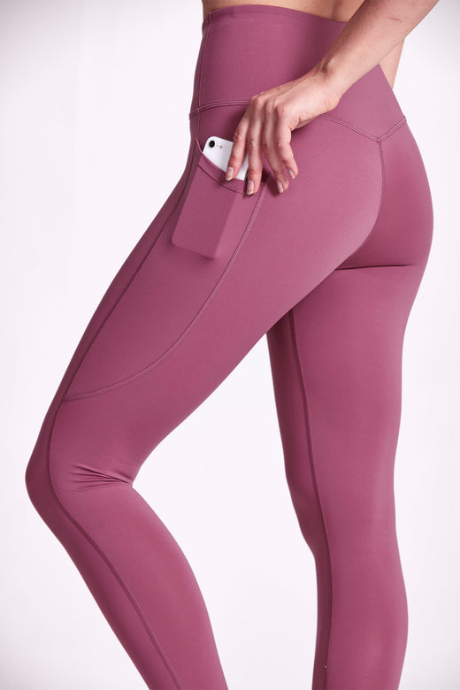 Motion 7/8 Legging - Rosewater