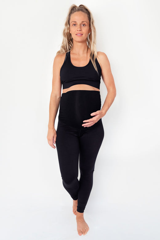 Maternity Full Length Legging - Black