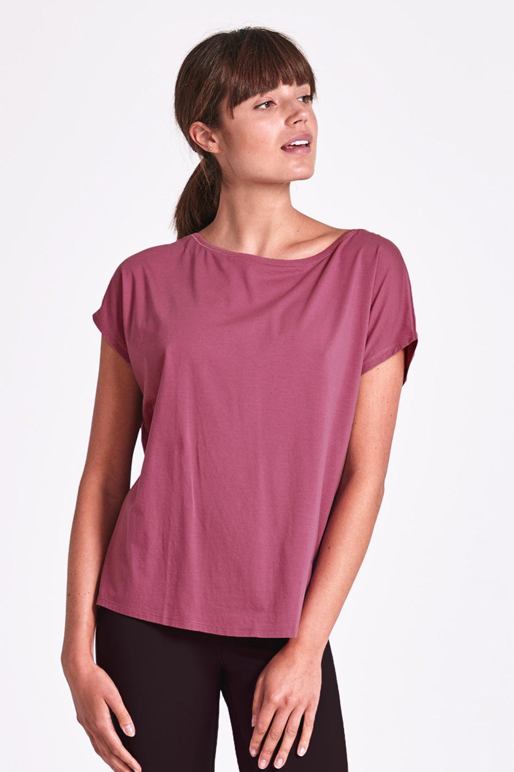 Deluxe Relaxed Tee - Rosewater