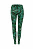Tropical Night High Waist Printed Yoga Legging - Full Length
