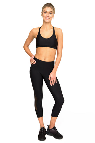DBX Active Legging with Mesh Panel  - 7/8