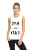 Gym and Yang Bamboo Boyfriend Tee - White