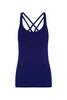 Navy Prana Flow Sports Tank