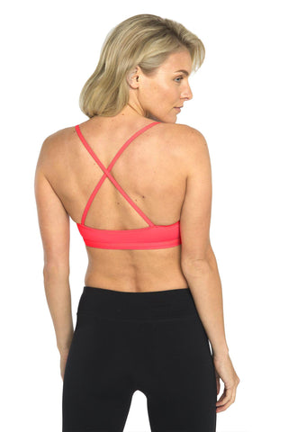 Bliss Sports Bra - Living Coral