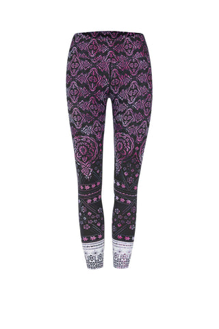 Marsarla Shanti High Waist Printed Activewear & Yoga Legging - 7/8