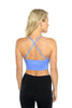 Ellis Crop Bra - Powder Blue