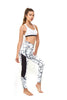 DBX Performance Compression Legging White Marble - Full Length