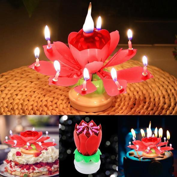 Magic Flower Birthday Candle [Buy 1 Get 2 Free Today ONLY]